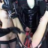Bondage and bdsm latex sex orgy