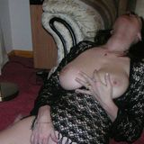 British amateur MILF with huge tits and nipples