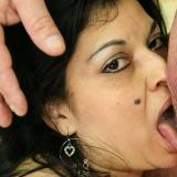 Busted up latina milf gets destroyed