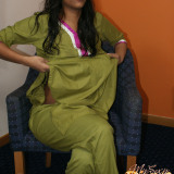 divya in shalwar suit talking to her friend start getting naked