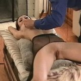 Asian slavegirl in painful nipple playing