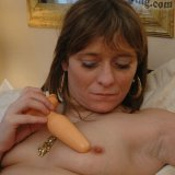 Escort Charlie plays with buttplug