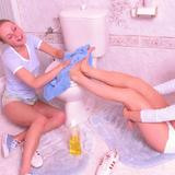 panchodog: jennycristy cleaning nn
