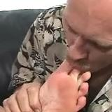 breasty blond bitch gets luscious foot arousal